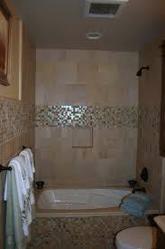 Furniture Interior Bathroom Bathroom Glass Tile Ideas Comfortable - Bathroom with jacuzzi and shower