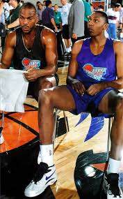 Chuck Person & Wesley Person | Celebrity siblings, Love and basketball, I  love basketball