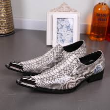 Snake Design Shoes Italy Leather Snake Skin Shoes Men Mens Slide Shoe Designer Sapatos Masculino Groom Wedding Shoes Party Shoes Suede Shoes Pumps Shoes From