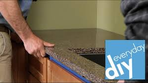 Diy Kitchen Countertops How To Install A Kitchen Countertop Buildipedia Diy Youtube