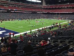 Nrg Stadium Section 132 Houston Texans Rateyourseats Com