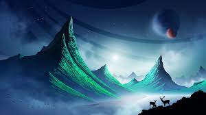 Fantasy Landscape Digital Art Scenery ...