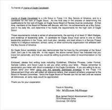 Boy Scout Letter Of Recommendation For Eagle Scout 11 Best Eagle Scout Letters Of Recommendation Images Calligraphy