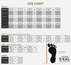 Ugg Big Kid Size Chart Uggs Conversion Sizing Chart Clever Us Uk Clothing Plus Shoe