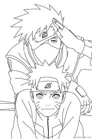 Top 25 naruto coloring pages for your little ones. Naruto Coloring Pages With Kakashi Coloring4free Coloring4free Com
