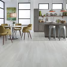whitewashed floors like alpine oak create a light bright feel to open up any space