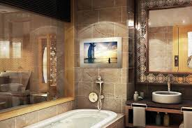Tech2o Luxury Outdoor Bathroom & Mirror TVs