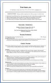 Resume Sample With Skill New Sample New Grad Resumew Graduate Nurse
