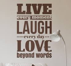 Live Laugh Love Quotes Mesmerizing Original Live Laugh Love Quote TenStickers