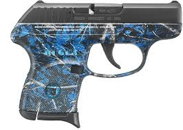 ruger lcp pistol 3762 380 acp 2 75 moonshine camo blued finish 6 rds