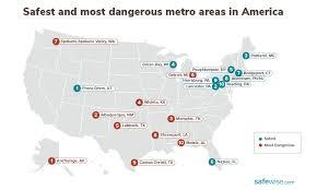 10 safest metro cities in america