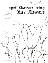 Small Picture April Showers Coloring Pages Archives At April Showers Bring May
