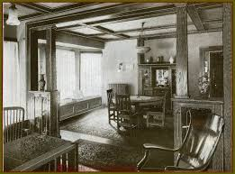 image mission home styles furniture. this vintage image shows a craftsman bungalow interior with mission style furniture beamed ceiling colonnade builtin buffet and bookcases home styles