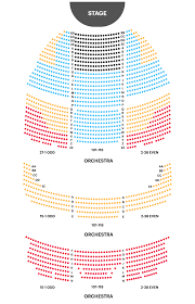 Brown Theater Seating Chart Your A To Z Guide To Broadway Theater Seating Charts