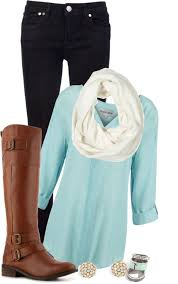 simple outfit idea for winter
