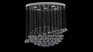 saint mossi crystal rain drop chandelier modern contemporary ceiling pendan