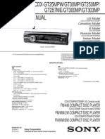 sony cdx gt45u hertz electrical connector sony cdx gt300mp service manual