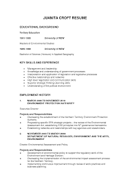 Personal Background Sample Resume Effortless Depict Consequently 1