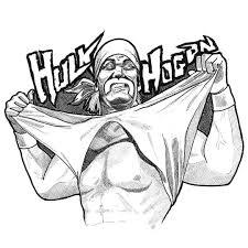Hollywood hulk hogan by hulk hogan (english) paperback book free shipping! 1987 Hulk Hogan Inktober 3 31 Drawing Illustration Artwork Wrestling Hulkhogan Wrestlinglegends Brownierea Hulk Hogan Hulk Coloring Pages