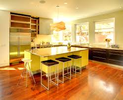 Bright Kitchen Color Bright Kitchen Lighting With Granite Countertop And White Cabinet