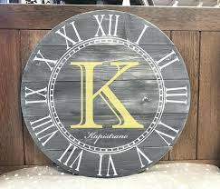 rustic clock round gatehouse wall hobby lobby tattoo numbers
