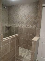 elegant walk in tile shower no door elegant beautiful walk in shower no door concept than