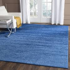 image of light blue area rug theme