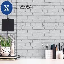 10 Meter long 3D brick effect wallpaper ...