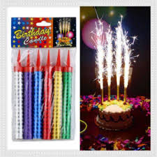 universal celebration candle birthday party cake candles spark candles firework candles cake