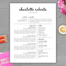 Pretty Resume Template Fascinating Stunning Resume Templates Pretty Resume Template Best 48 Creative