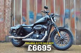 bike of the day harley davidson sportster 883 mcn