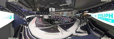 Bridgestone Arena Virtual Seating Chart Concerts 66 Prototypical Atlanta Hawks Arena Seating Chart