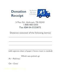 donation reciept letter donation receipt letter template clothing checklist silent auction