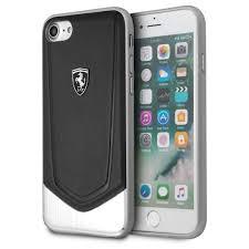 Shockproof hard case for superior protection. Ferrari Leather Case Iphone 8 Plus And Iphone 7 Plus Black Mj Monaco