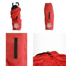 Details About Jl Childress Gate Check Bag For Umbrella Strollers Red