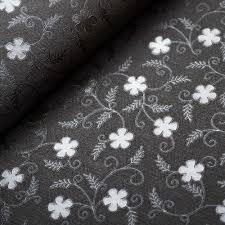 Us 390 Vlakte Getextureerde Kleine Bloem Effen Kleur Vinyl Pvc Behang Champange Beige Zwart Wit Bloemen Behang Voor Meisje Slaapkamer Decor In