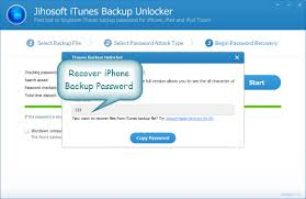 recover iphone backup password