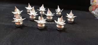 german silver mini kalasha return