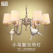 get ations nordic american country past chandelier wrought iron chandelier living room dining room minimalist bird chandelier creative