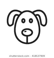 dog face clipart. Perfect Dog Dog Face Inside Clipart P