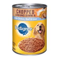 Pedigree Ground Dinner Wet Can Dog Food 375g 2 Cans