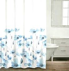 blue shower curtain bed bath and beyond grey