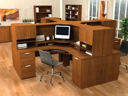 office corner desk with hutch. 70 Most Exceptional Home Office Furniture Modern Computer Desk Reception Writing Used Near Me Flair Corner With Hutch