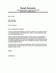 Secondary School Teacher Cover Letter Sample Best Cover Letter