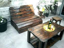 how table out of pallets potting made from to make a coffee rustic reclaimed pallet table out of pallets make