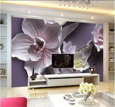 Flower Design Wallpaper 3d 3d Flower Wallpaper Mural Bedroom Roll Modern Embossed