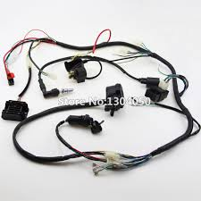 popular electrical coil buy cheap electrical coil lots from 200cc 250cc quad full electrics wiring harness cdi coil ngk solenoid rectifier zongshen loncin