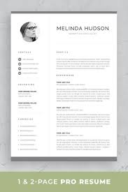 Pages Resume Templates Free Professional Resume Template Set With