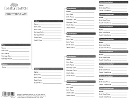 Family Tree Template Word 2007 New Ancestry Forms Free Roho 4Senses ...