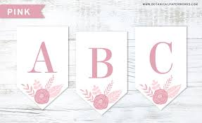 Letter For Banner Free Printable Black And White Banner Letters Diy Swank Peoplewho Us